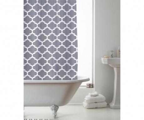 Zavesa za prho Moroccan Grey 180x180 cm