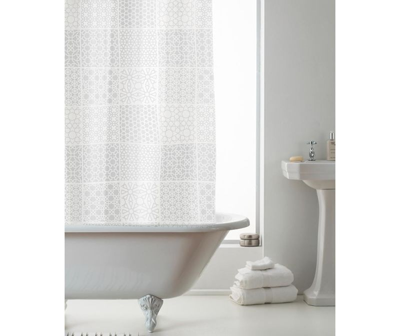 Zavesa za prho Vector 180x180 cm