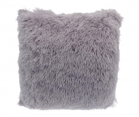 Okrasna blazina Long Fur Soft Touch Light Grey 40x40 cm