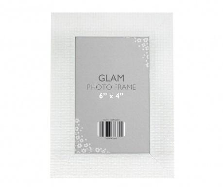 Рамка за снимка Glam White