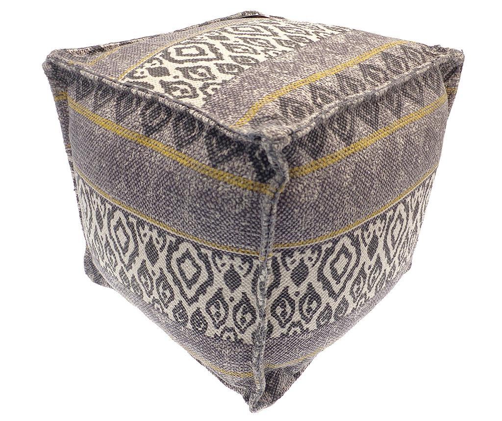 Jastuk za sjedenje Ikat Grey