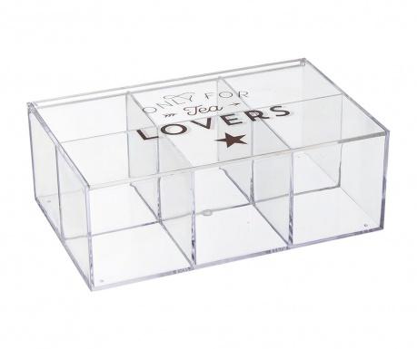 Krabice s víkem na čaj Lovers