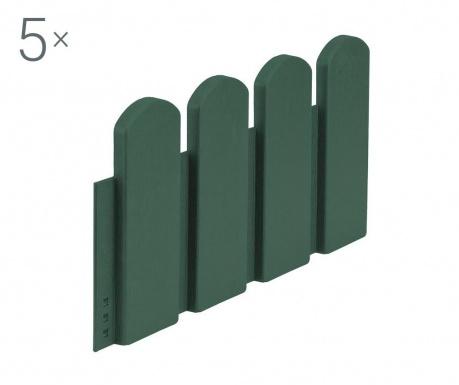 Set 5 ukrasnih ograda Salgado Green