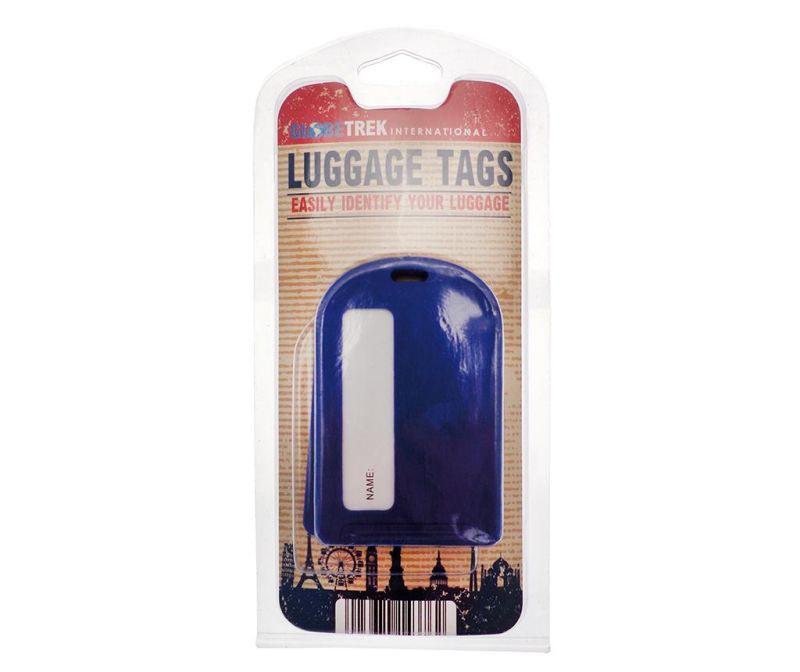 Set 2 oznak za prtljago Leda Blue