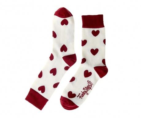 Γυναικείες κάλτσες Cherry Hearts 35-39