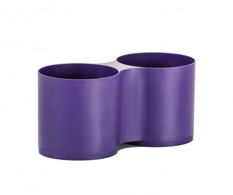 Dvostruka posuda za cvijeće Moduloo Violet