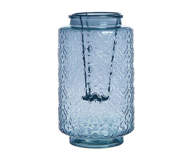 Suport pentru lumanare Glass Blue