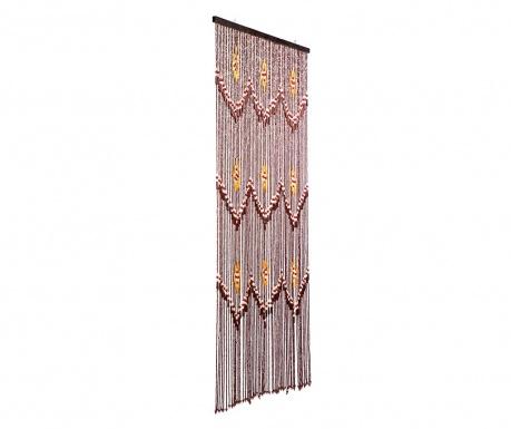 Záclona na dveře Taiping 90x200 cm