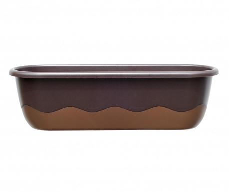 Сандъче със система за напояване Mareta Round Bronze