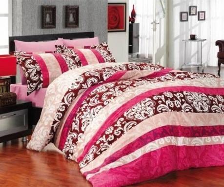 Σετ κλινοσκεπάσματα Διπλό Satin Classic Pink