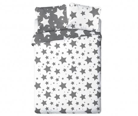 Σετ κλινοσκεπάσματα Μονό Extra Supreme Ranforce Stars Grey White