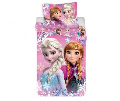 Posteljnina Single Ranforce Frozen Sisters