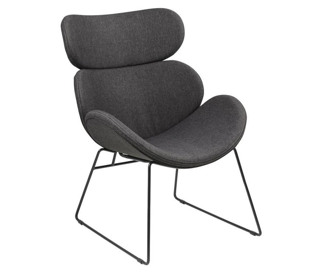 Židle Cazar Grey Black