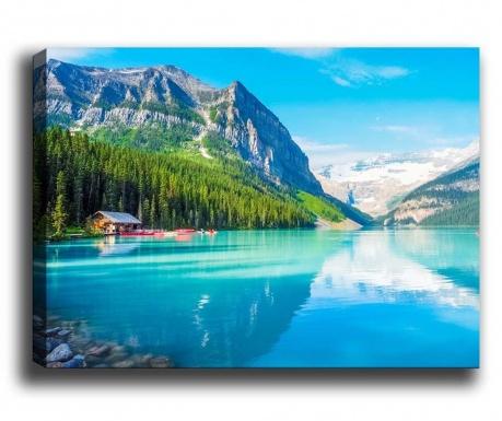 Slika Mountain Lake 70x100 cm
