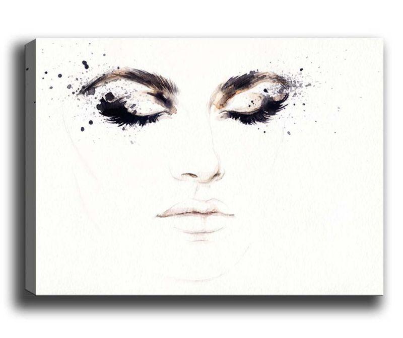 Tablou Eyelashes 70x100 cm