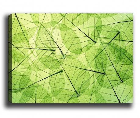 Tablou Overlapped Leaves 70x100 cm
