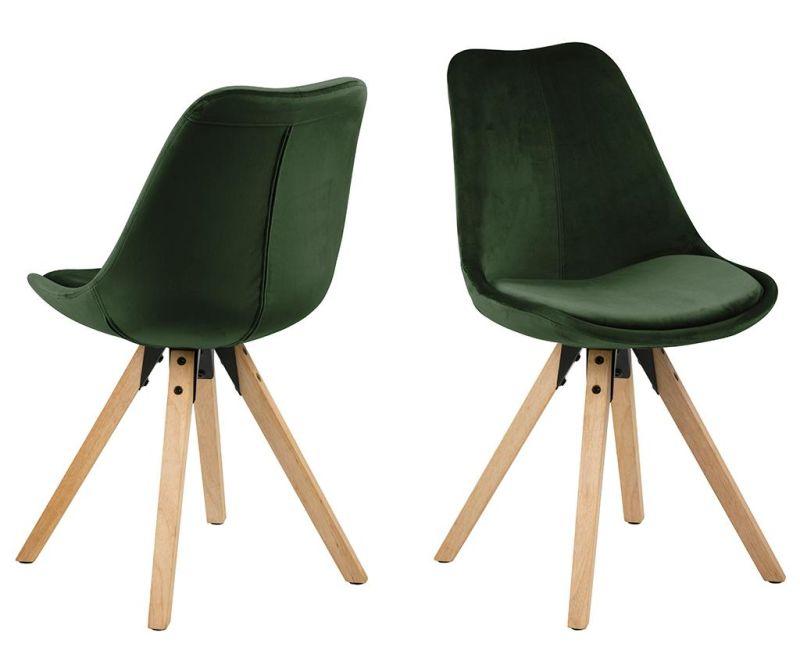 Set 2 stolice Dima Soft Forest Green