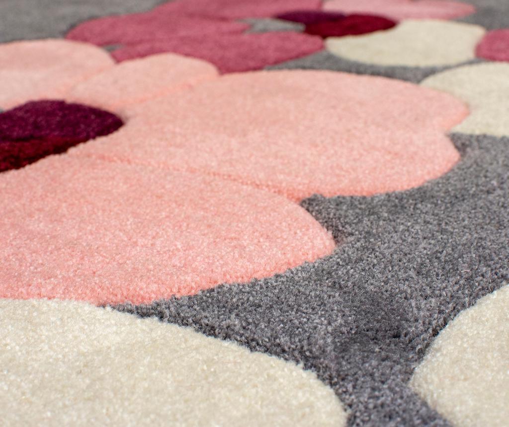 Blossom Charcoal Pink Szőnyeg 160x230 cm