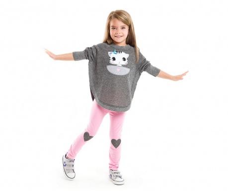 Otroški komplet - tunika in pajkice Dear Kitty 5 let