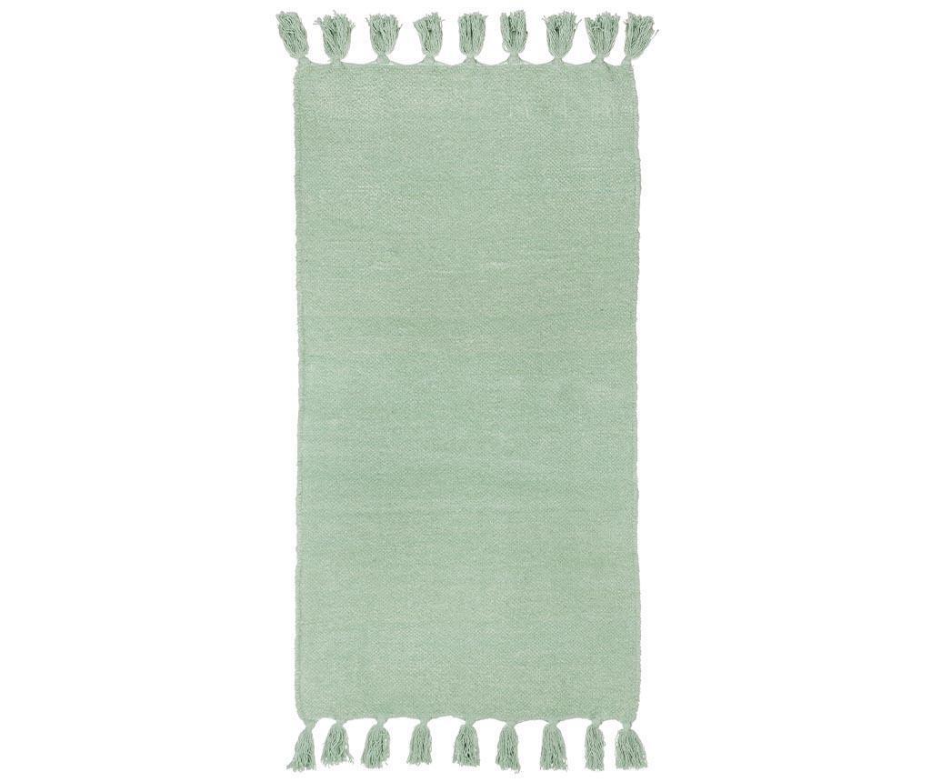 Covor tip pres Fortaleza  Green 60x120 cm