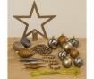 Set decoratiuni pentru brad 50 piese Golden and Silver