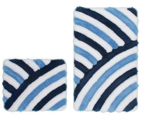 Set 2 covorase de baie My In Style Blue
