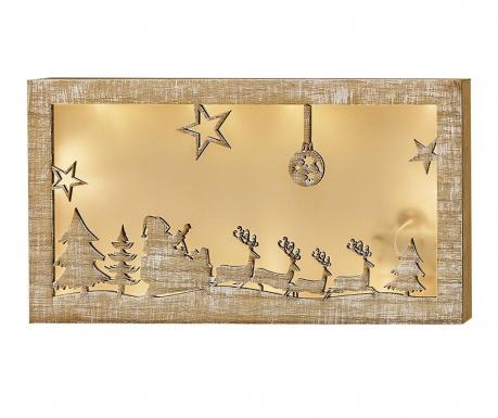 Świetlna dekoracja ścienna Christmas Story