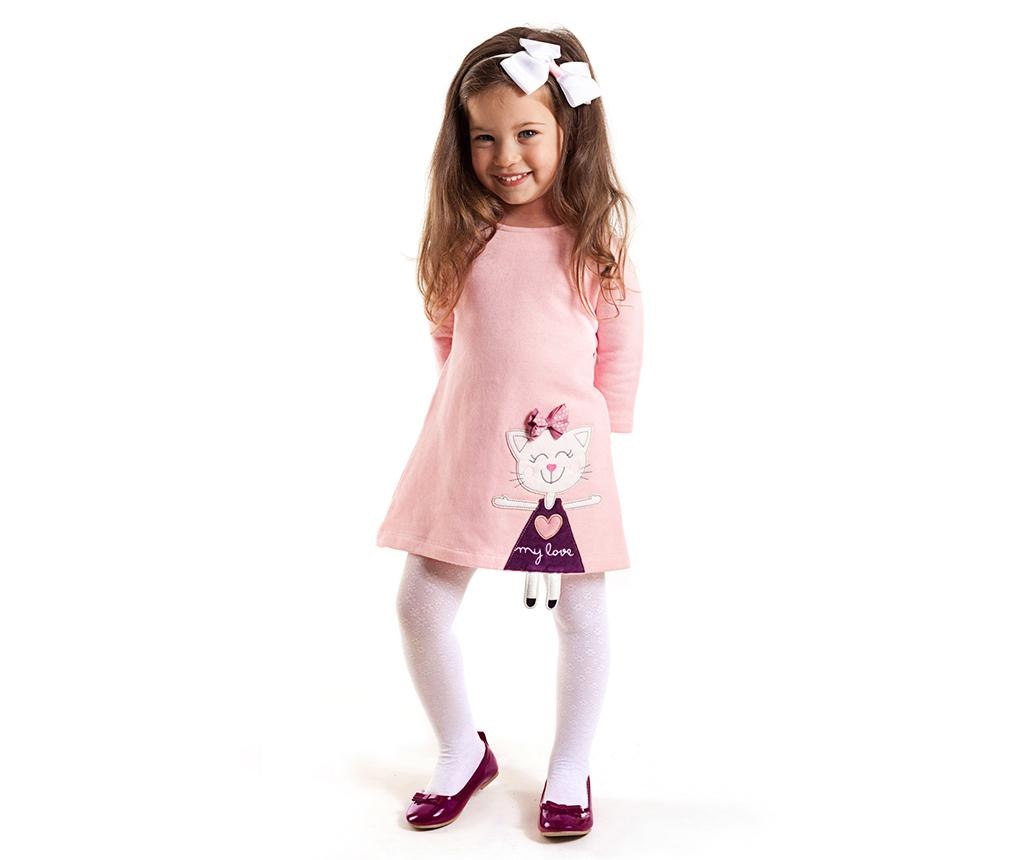 Rochie Cat Pink 5 years