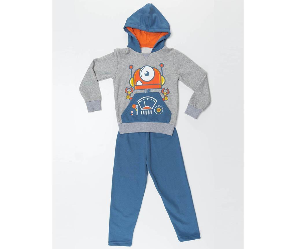 Set bluza si pantaloni copii Robotic 6 ani