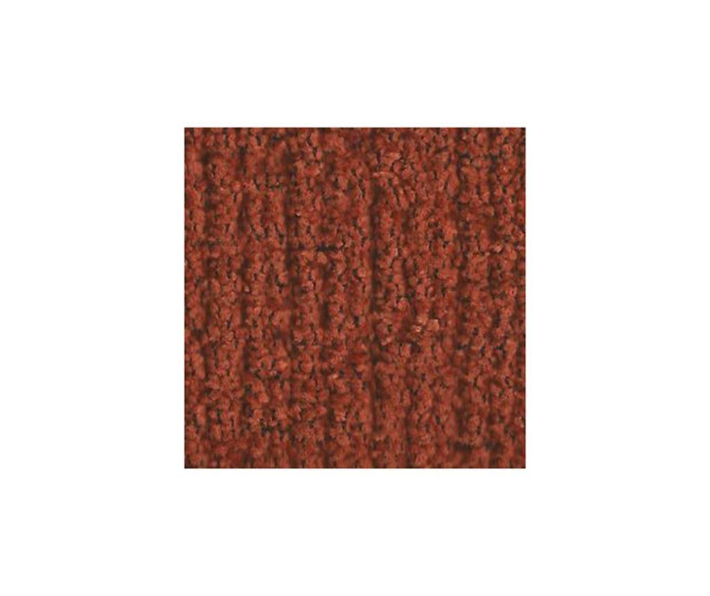 Dorian Dark Orange Gumis kanapé védőhuzat 210-240 cm