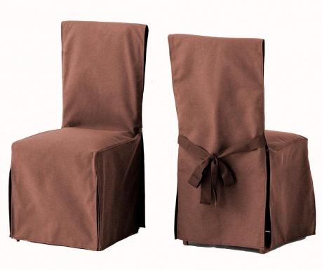 a0660630aac1 Kampaň ukončená Sada 2 puzdrá na stoličky Lona Liso Brown