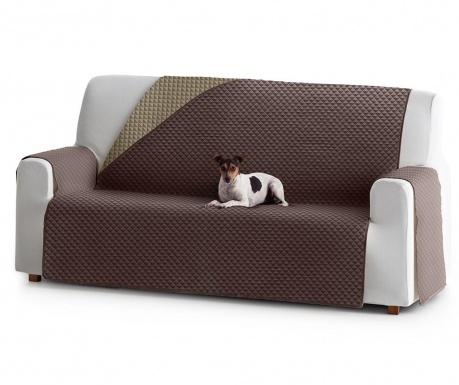 Husa matlasata pentru canapea Oslo Reverse Brown & Tan 150 cm