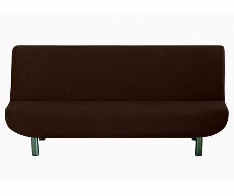 Pokrowiec elastyczny na sofę Ulises Clik Clak Brown