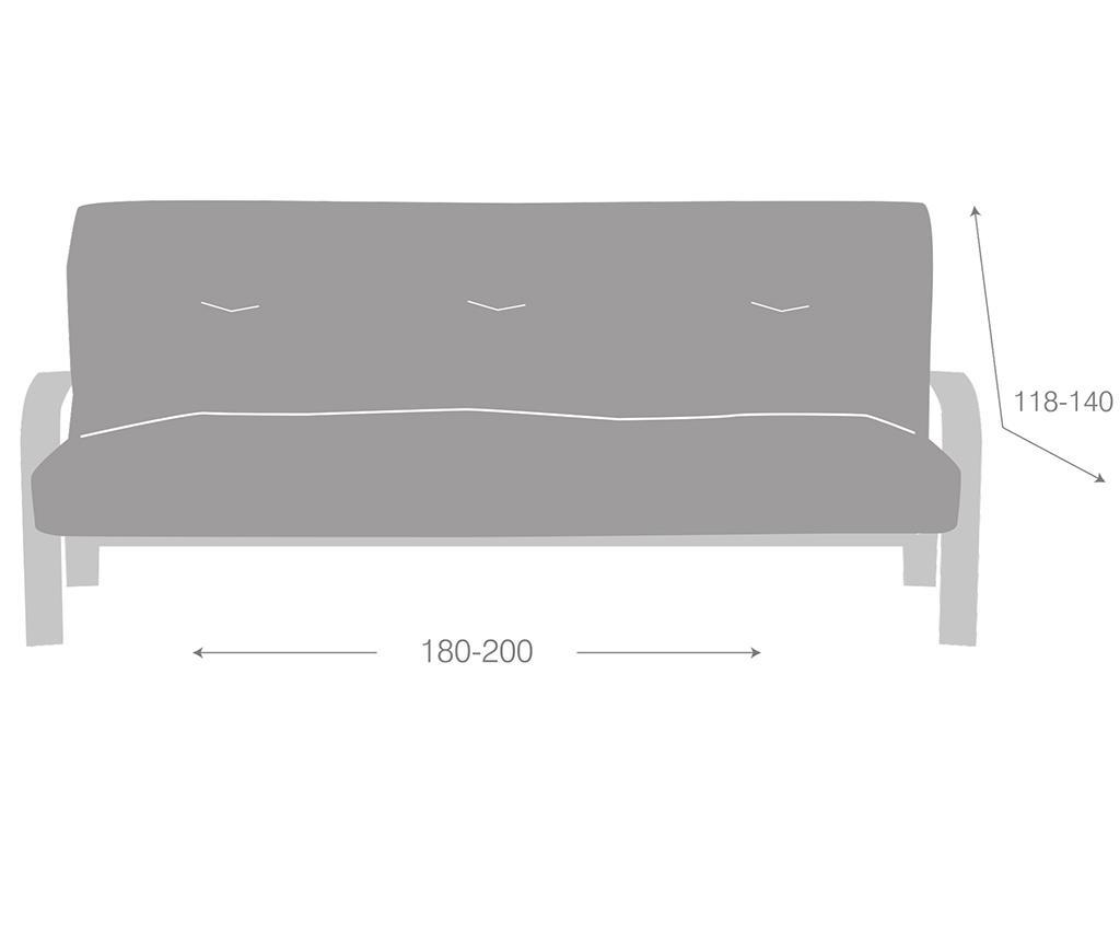 Elastična navlaka za kauč Ulises Clik Clak Grey