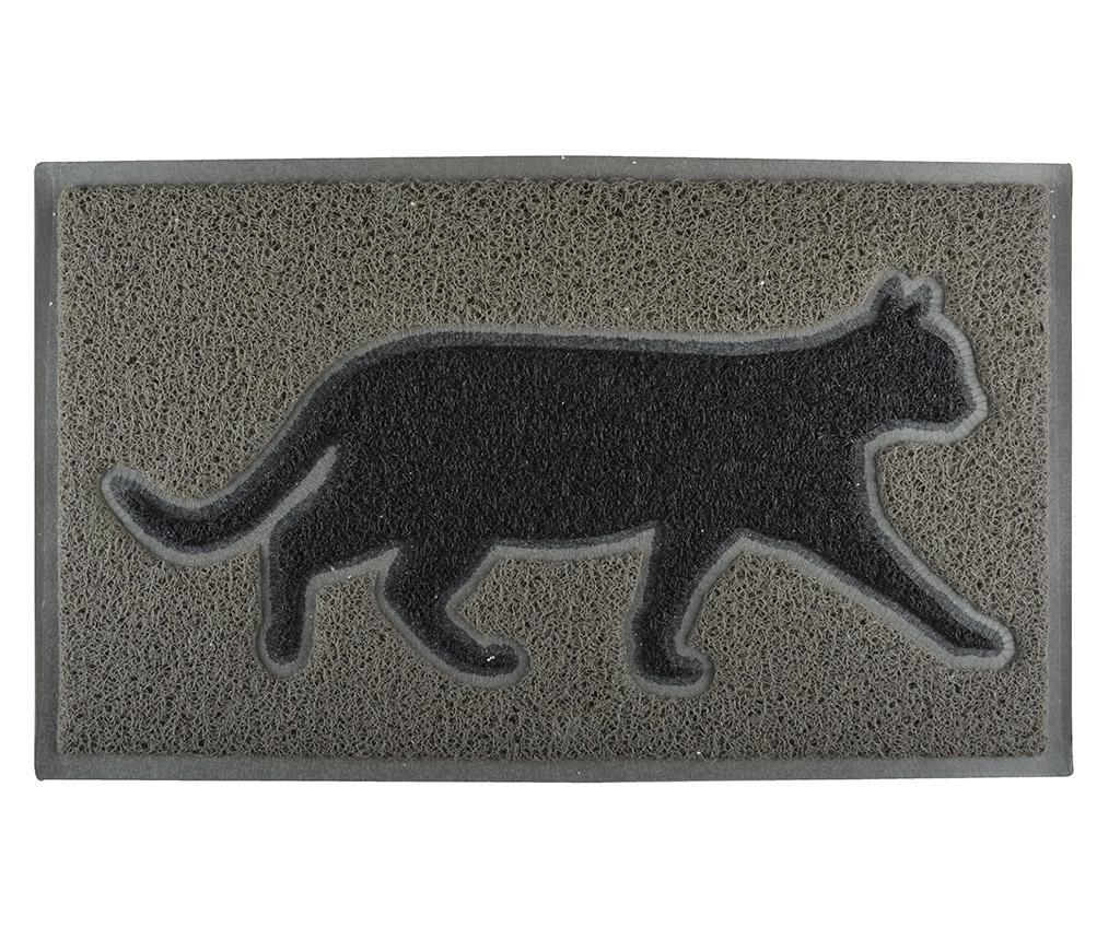 Vchodová rohožka Grey Cat 45x75 cm
