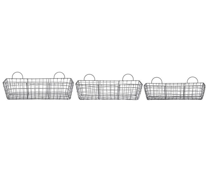Set 3 košar Wire