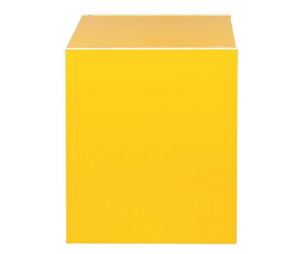 Modularni element Cube Door Yellow