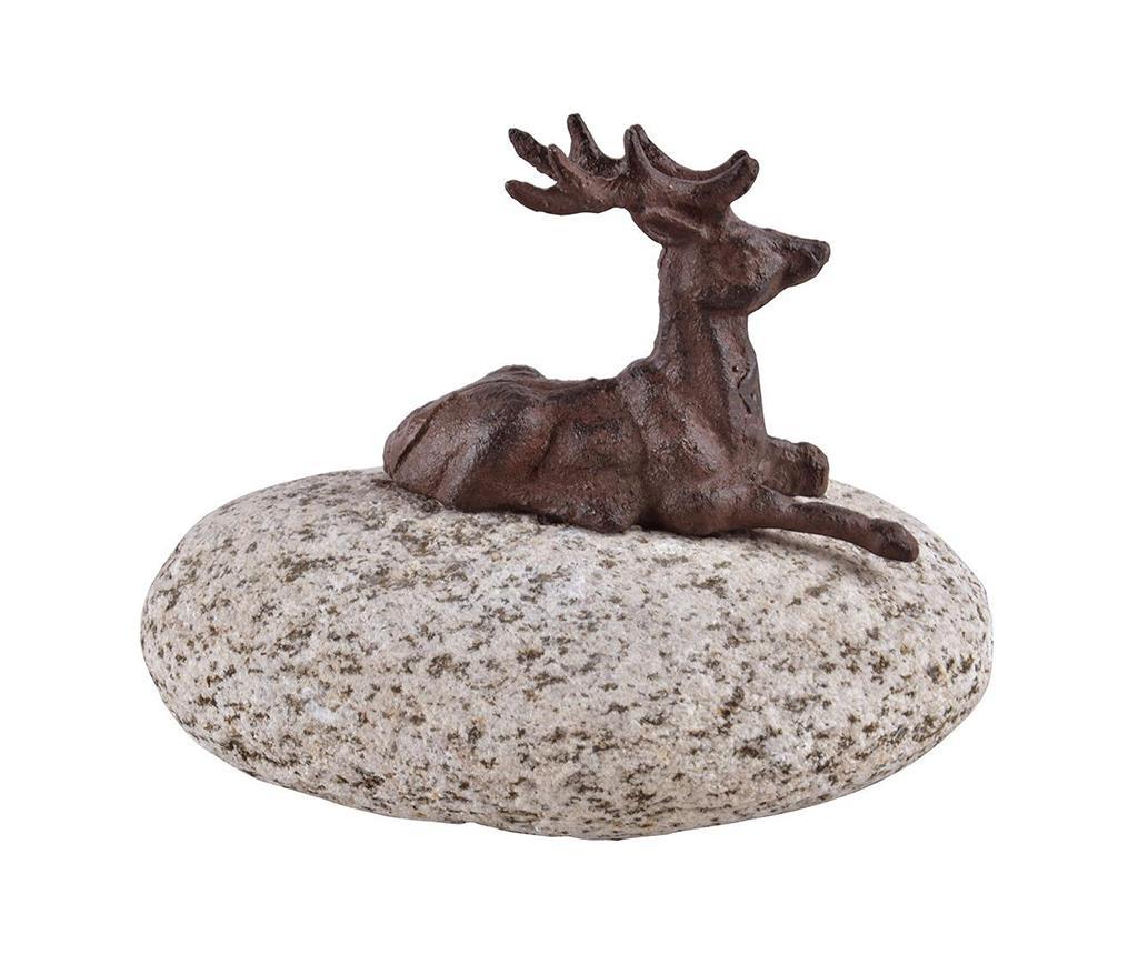 Decoratiune Deer On Stone