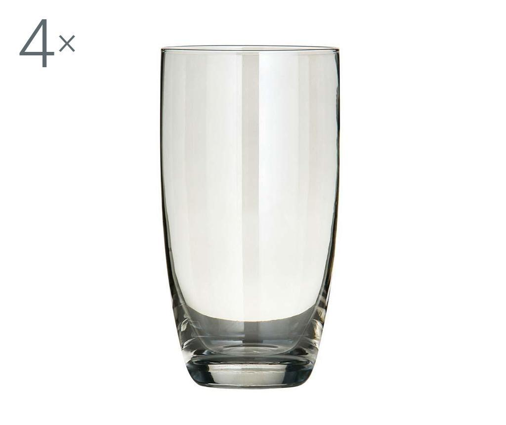 Set 4 pahare Clara 600 ml