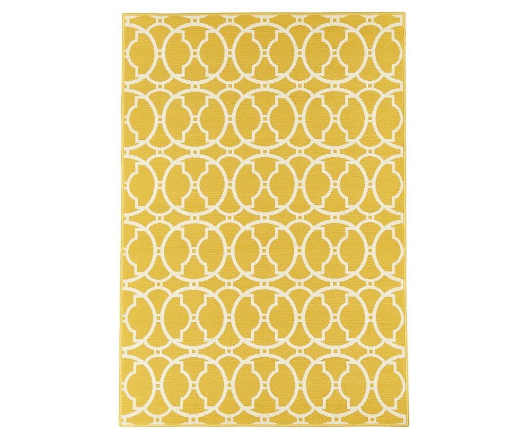 Tepih Interlaced Yellow 160x230 cm
