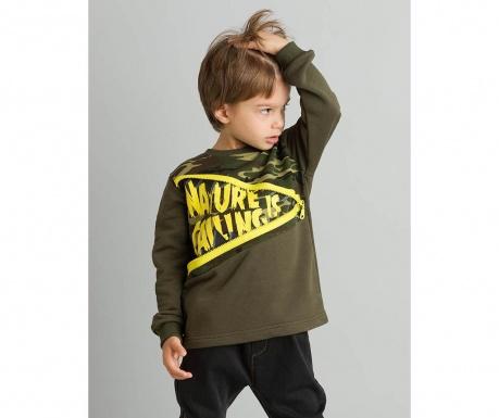 Otroška majica z dolgimi rokavi Nature Calling 7 let