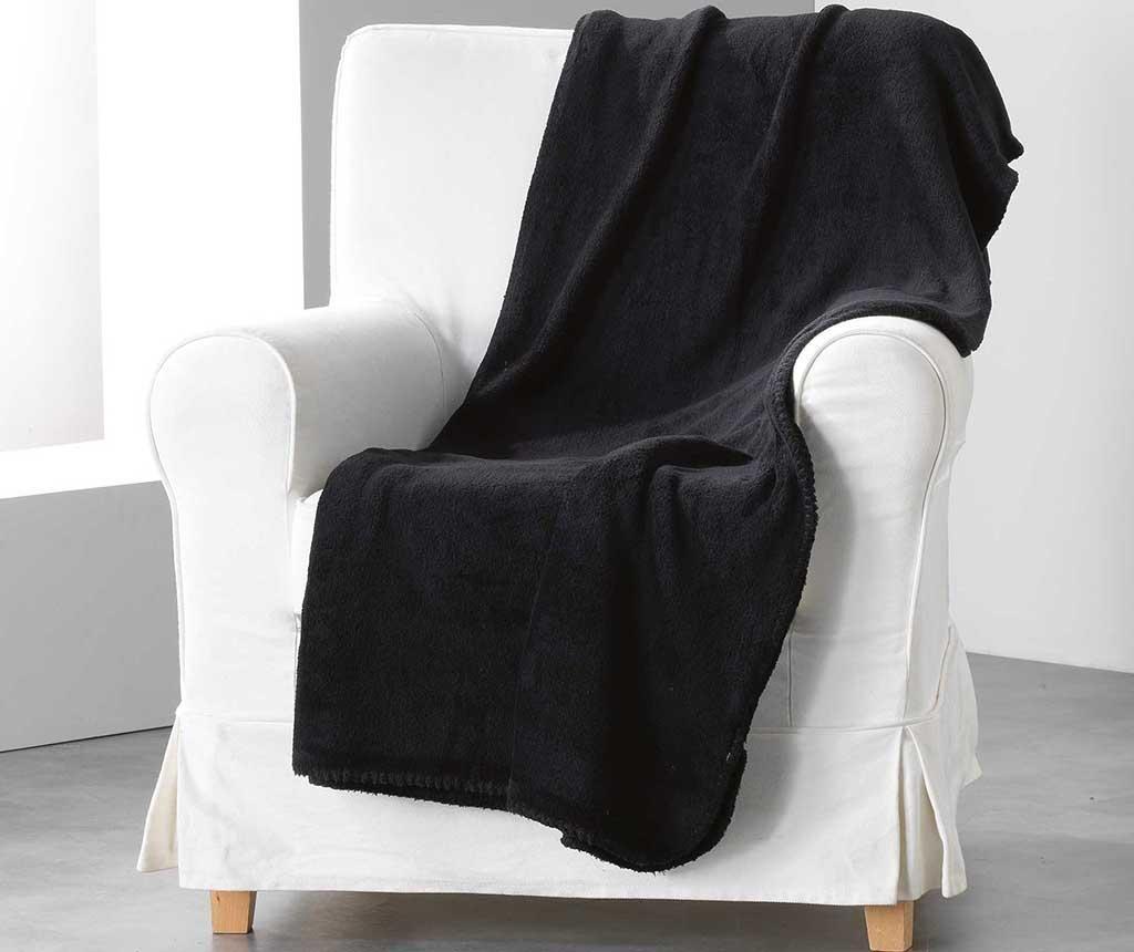 Pled Louna Black 180x220 cm