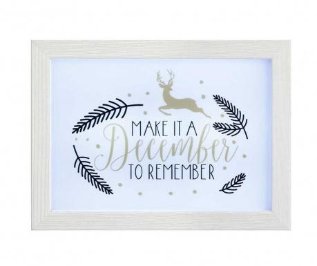 Světelná dekorace December To Remember