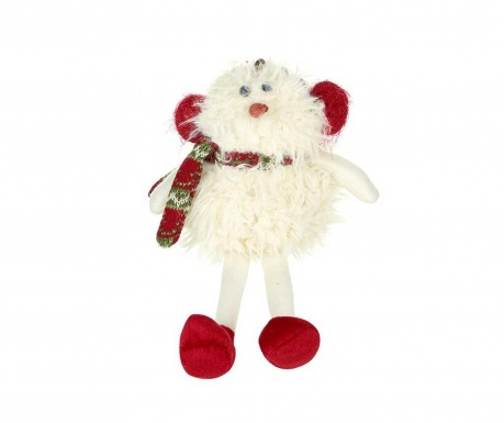 Decoratiune Santa With Scarf