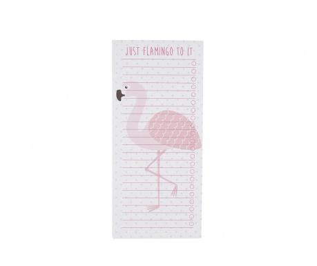 Memo blok z lističi Tropical Flamingo