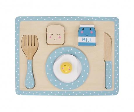 Zajtrkovalni igralni set Blue Kitchen