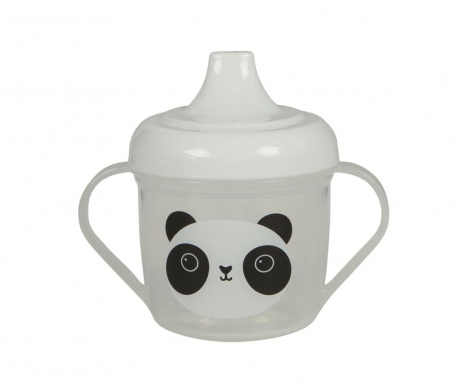 Otroška skodelica s pokrovom Aiko Panda
