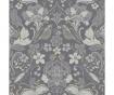 Tapet Folk Floral Grey 53x1005 cm