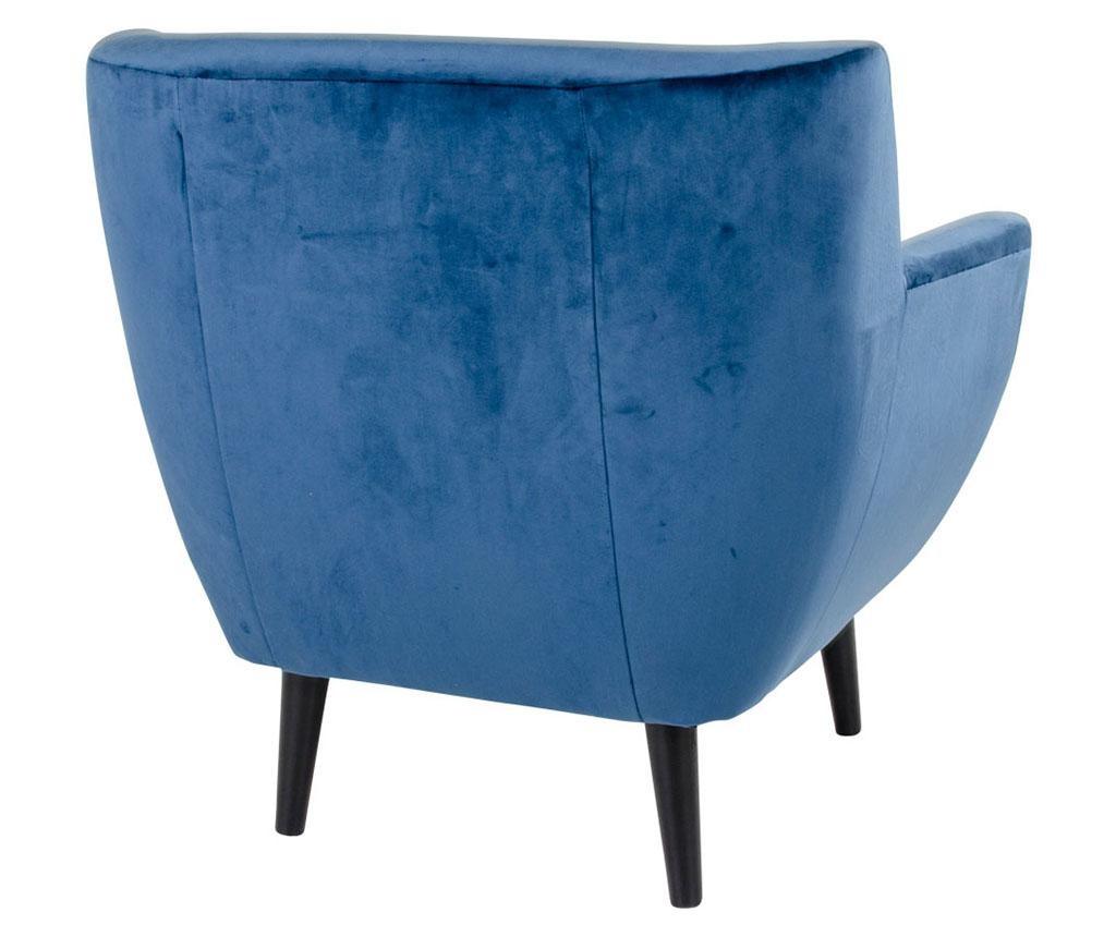 Fotelja Monte Velvet Dark Blue