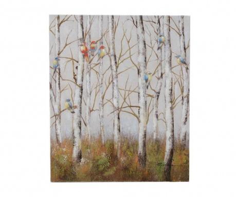 Slika Woods & Birds 50x60 cm